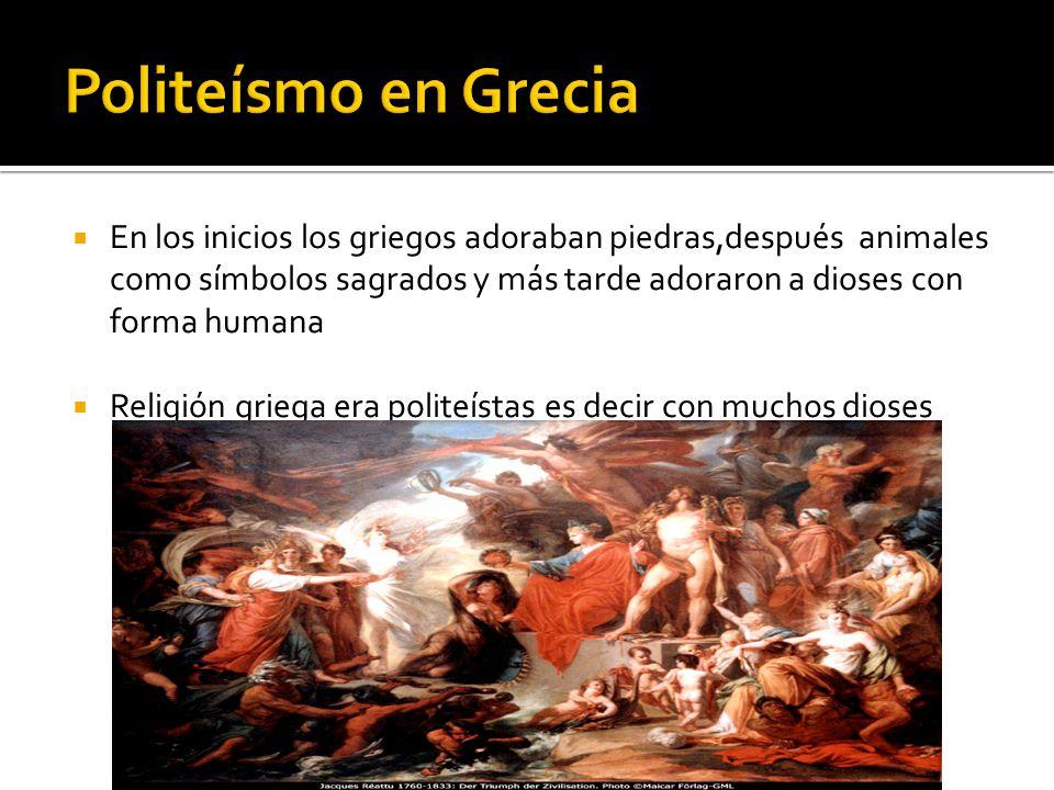 Politeísmo en Grecia