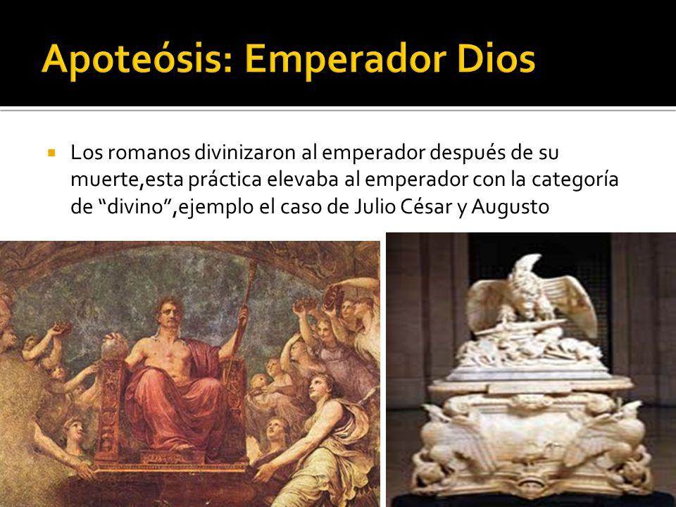 Apoteósis: Emperador Dios