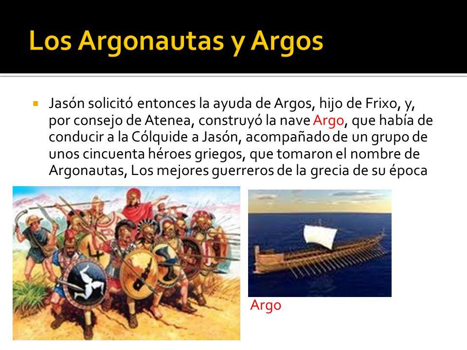 Los Argonautas y Argos