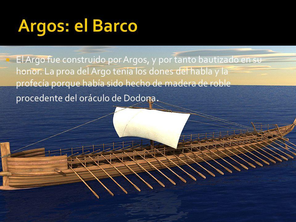 Argos: el Barco