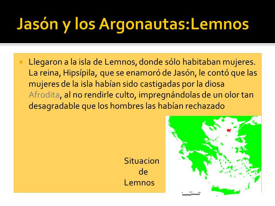 Jasón y los Argonautas:Lemnos