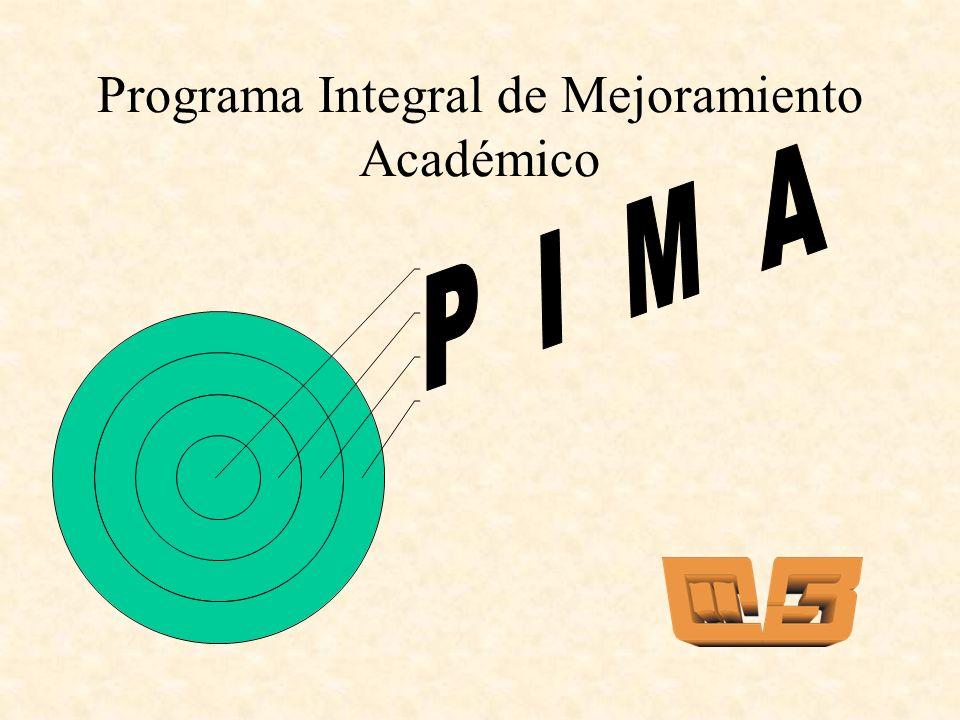Programa Integral de Mejoramiento Académico