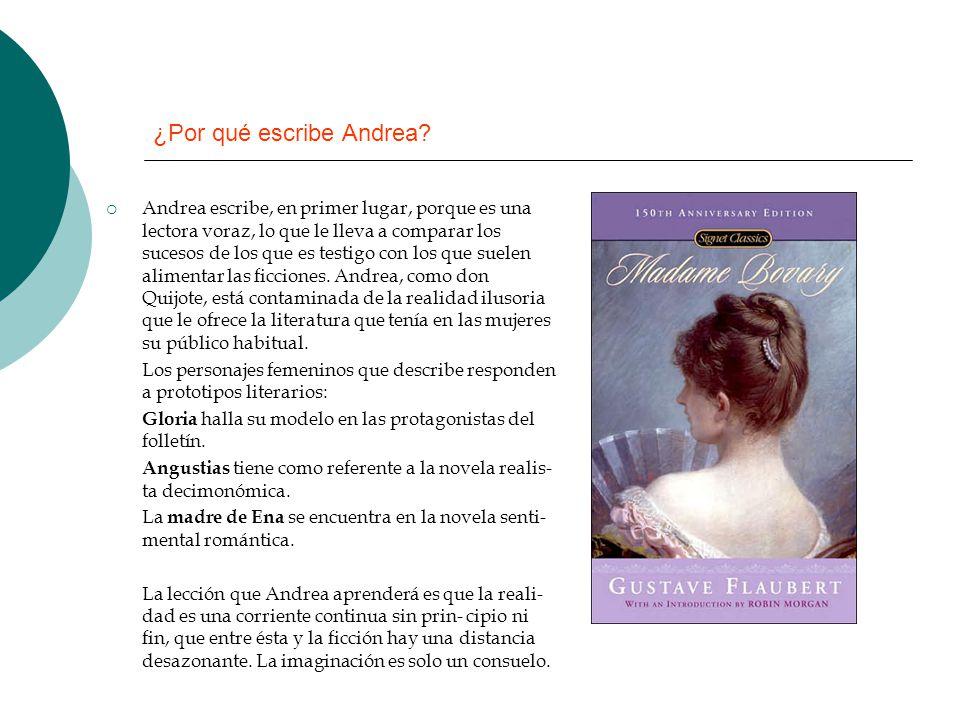 ¿Por qué escribe Andrea