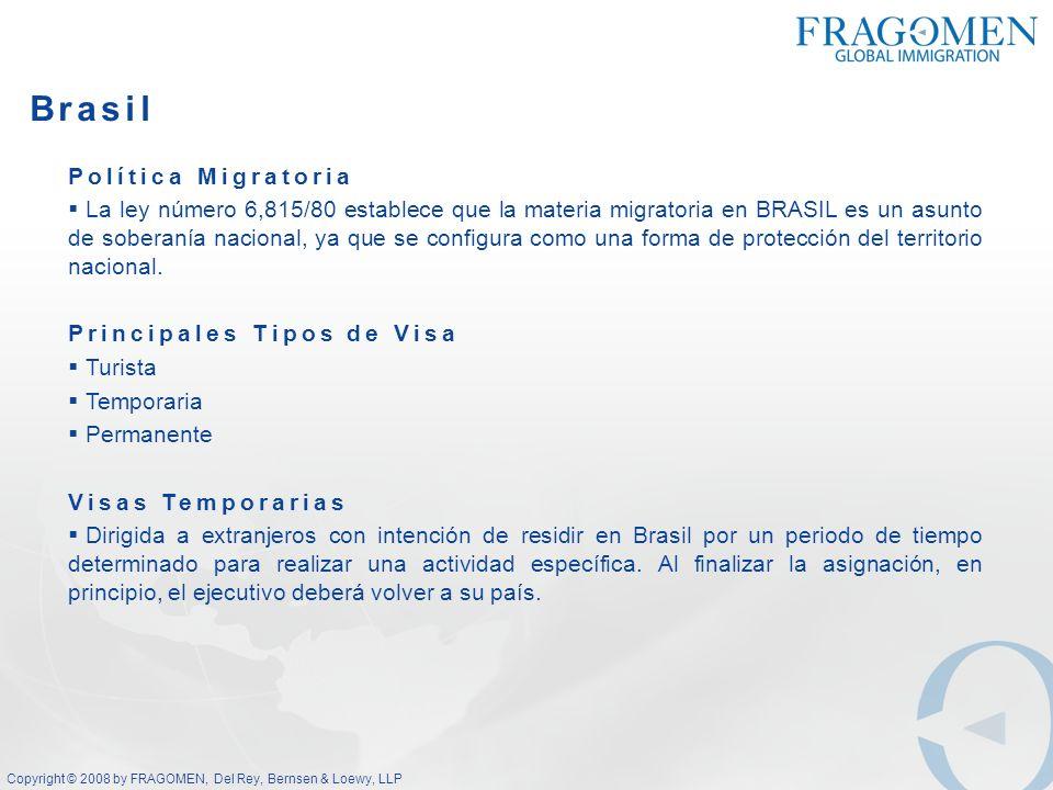 Brasil Política Migratoria