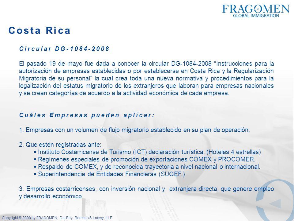 Costa Rica Circular DG-1084-2008