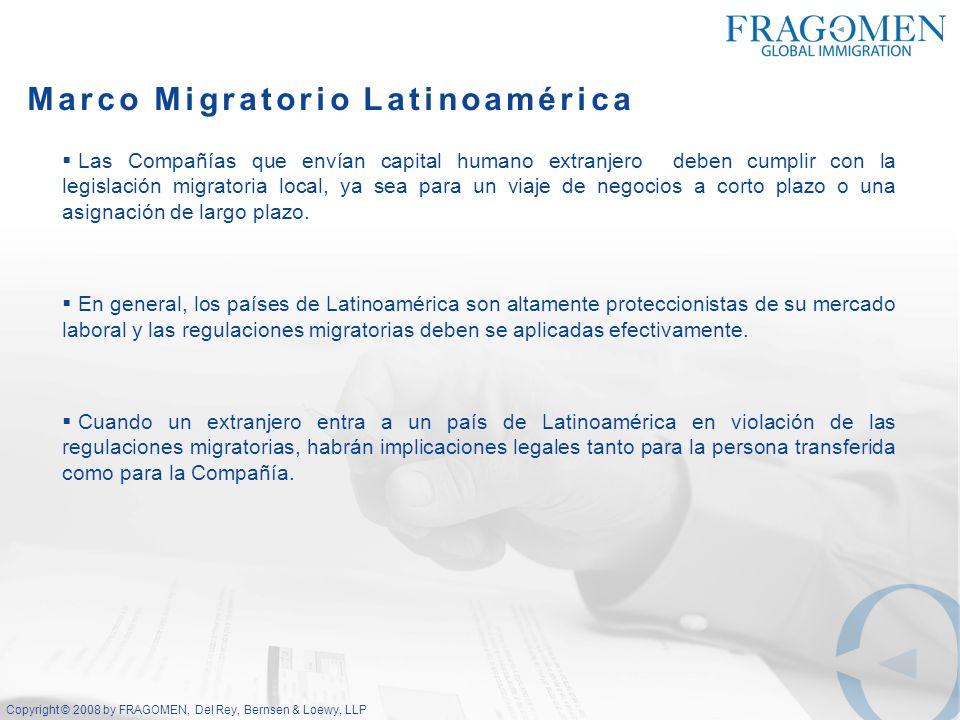 Marco Migratorio Latinoamérica