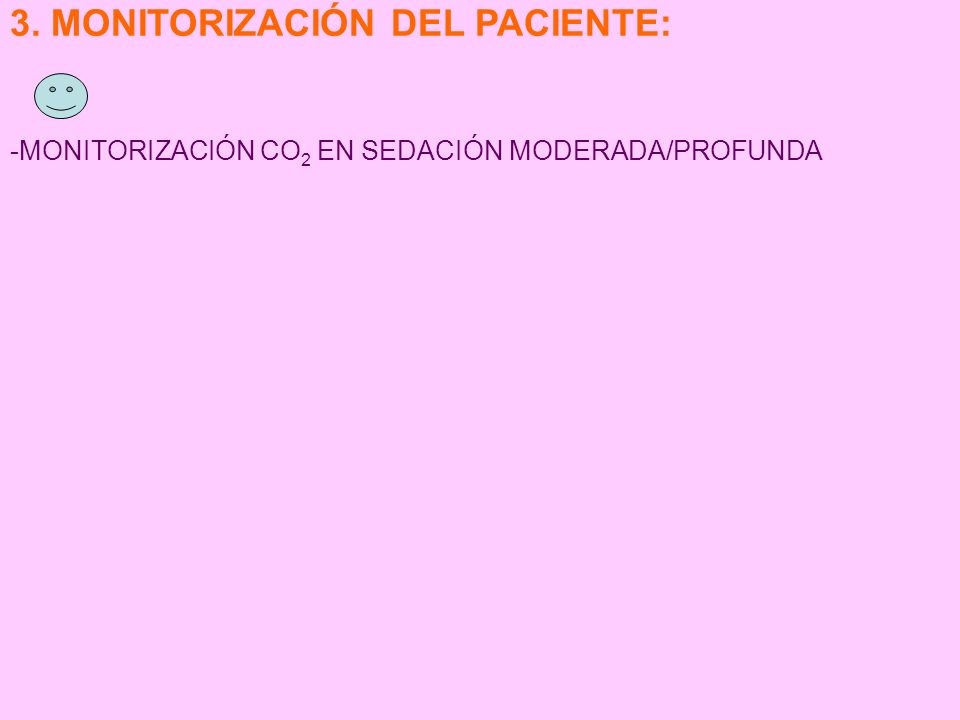 3. MONITORIZACIÓN DEL PACIENTE: