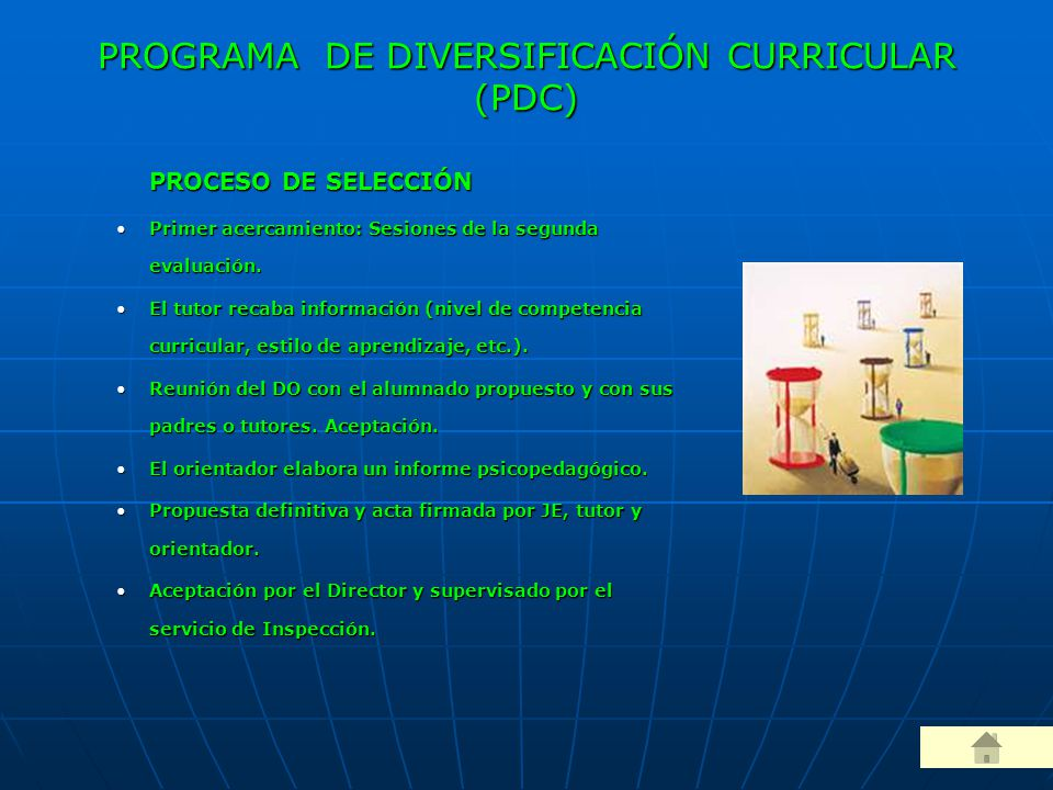 PROGRAMA DE DIVERSIFICACIÓN CURRICULAR (PDC)