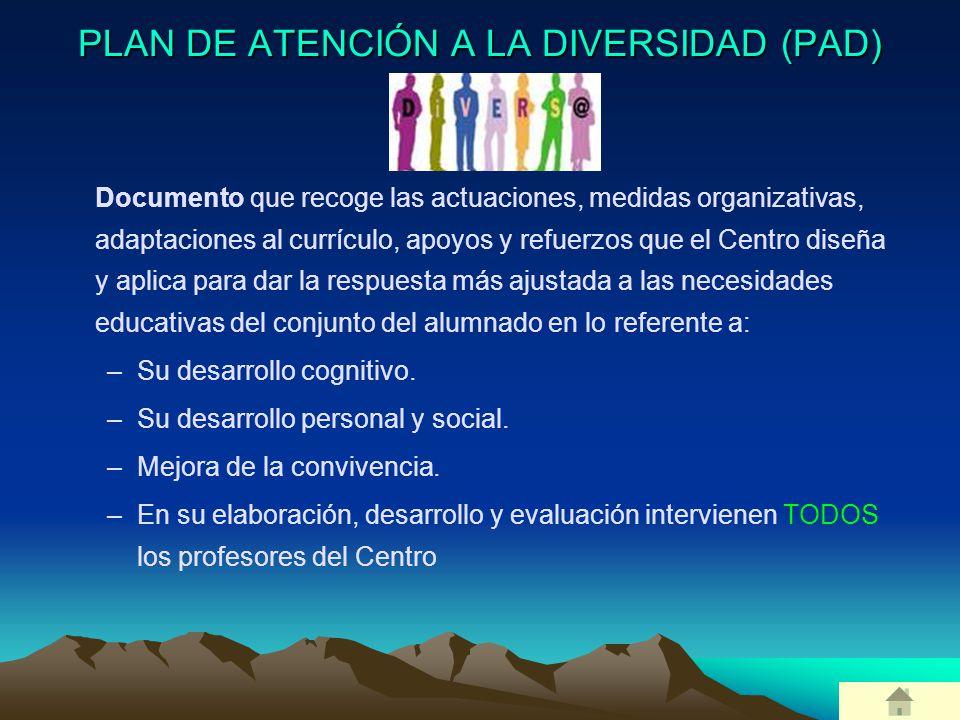 PLAN DE ATENCIÓN A LA DIVERSIDAD (PAD)