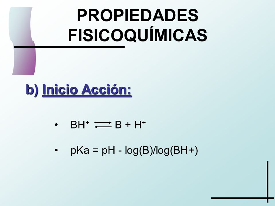PROPIEDADES FISICOQUÍMICAS