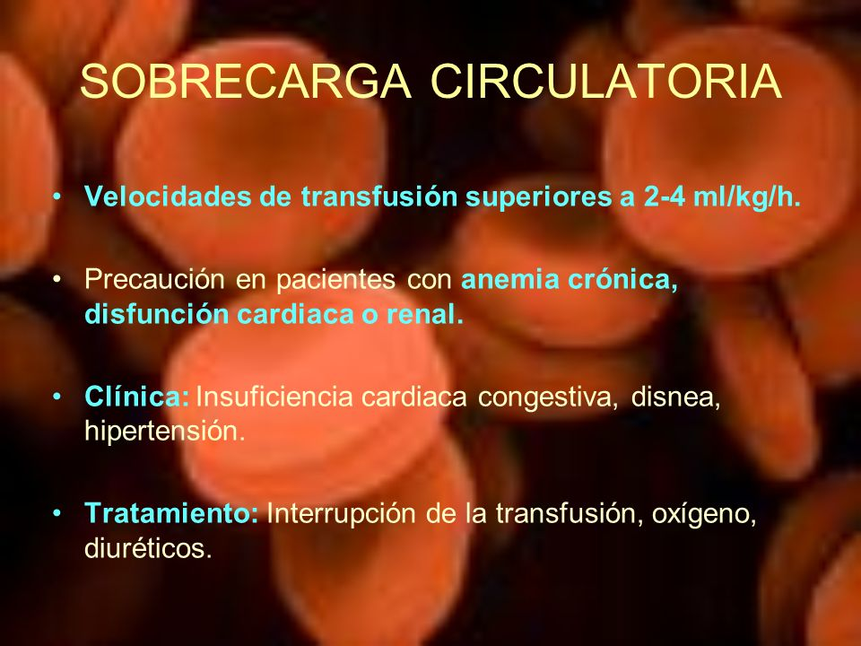SOBRECARGA CIRCULATORIA