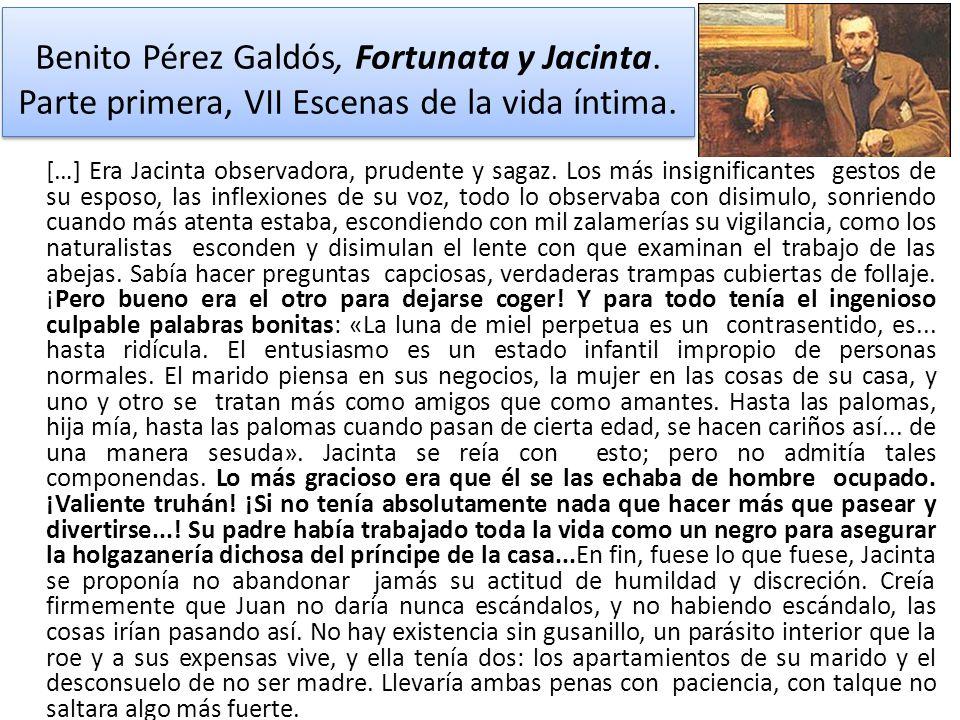 Benito Pérez Galdós, Fortunata y Jacinta