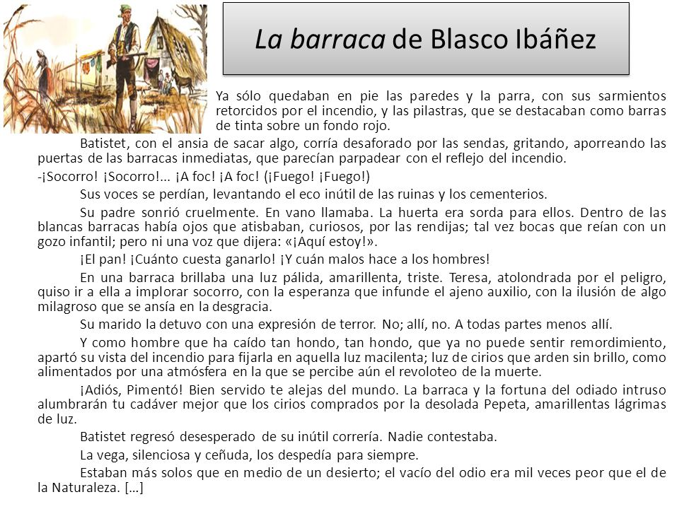 La barraca de Blasco Ibáñez