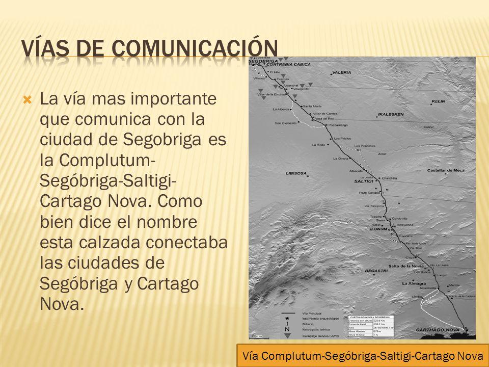 Vía Complutum-Segóbriga-Saltigi-Cartago Nova