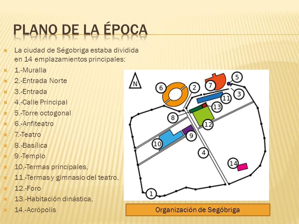 Organización de Segóbriga