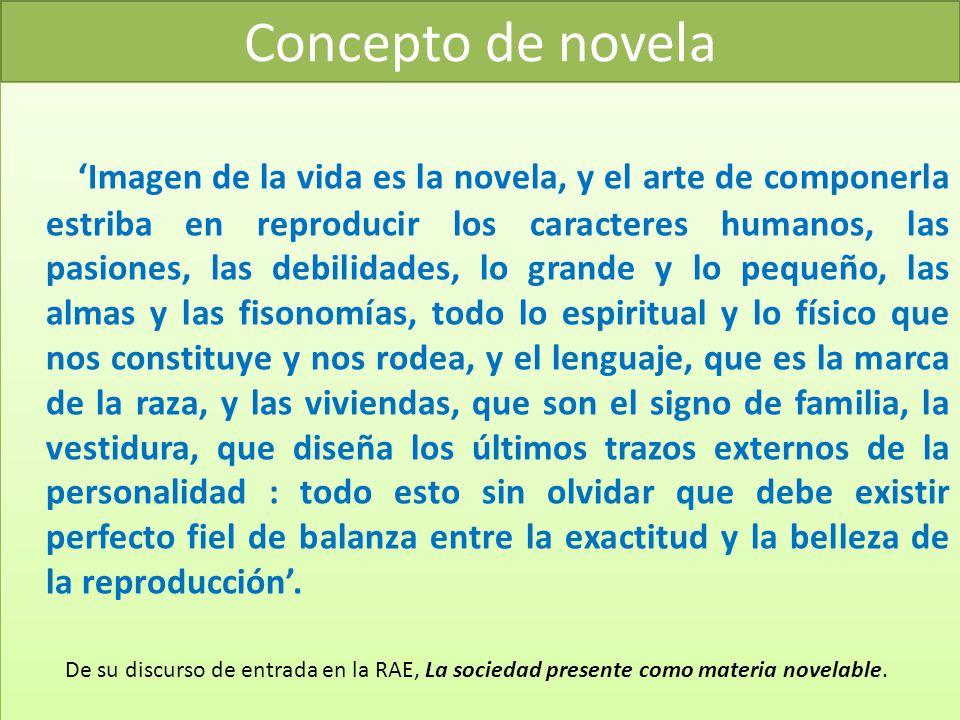 Concepto de novela