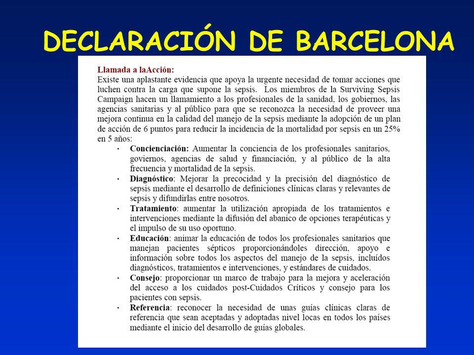 DECLARACIÓN DE BARCELONA