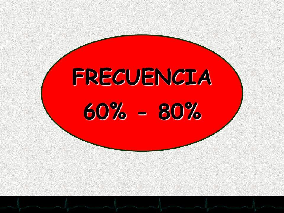 FRECUENCIA60% - 80%