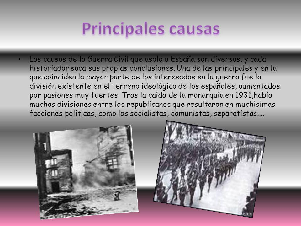 Principales causas
