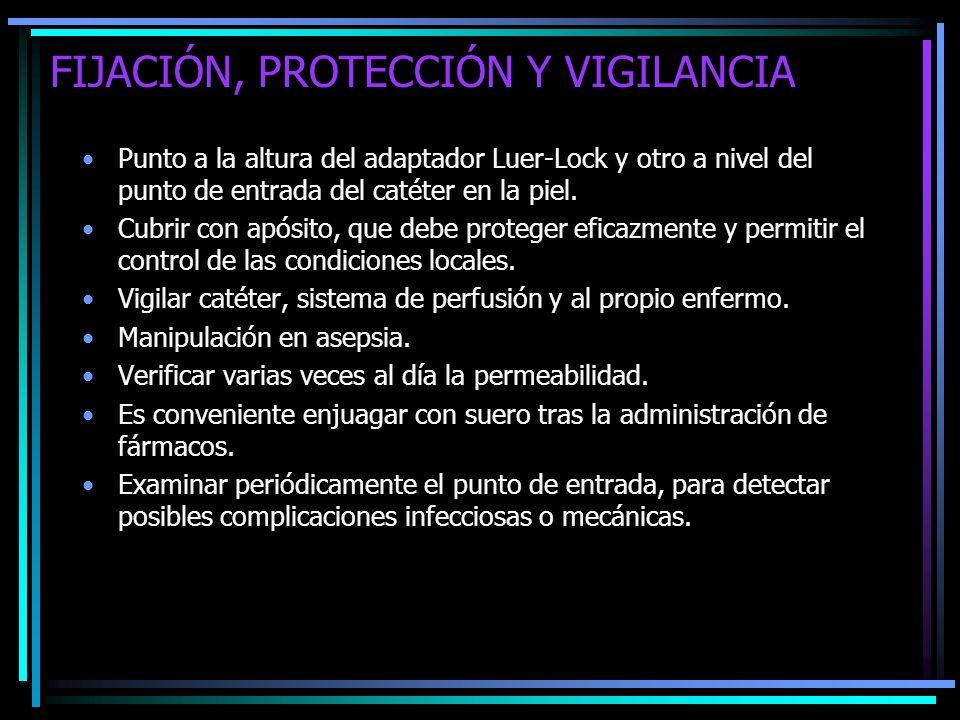 FIJACIÓN, PROTECCIÓN Y VIGILANCIA