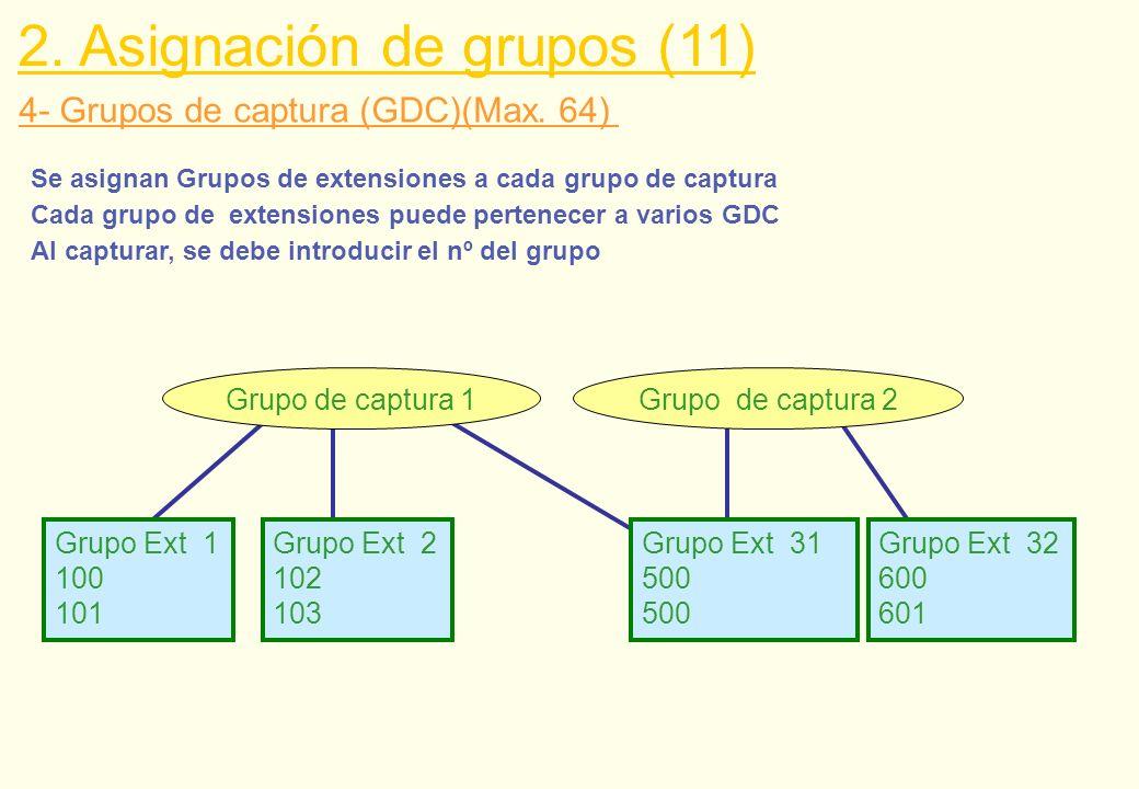 2. Asignación de grupos (11)