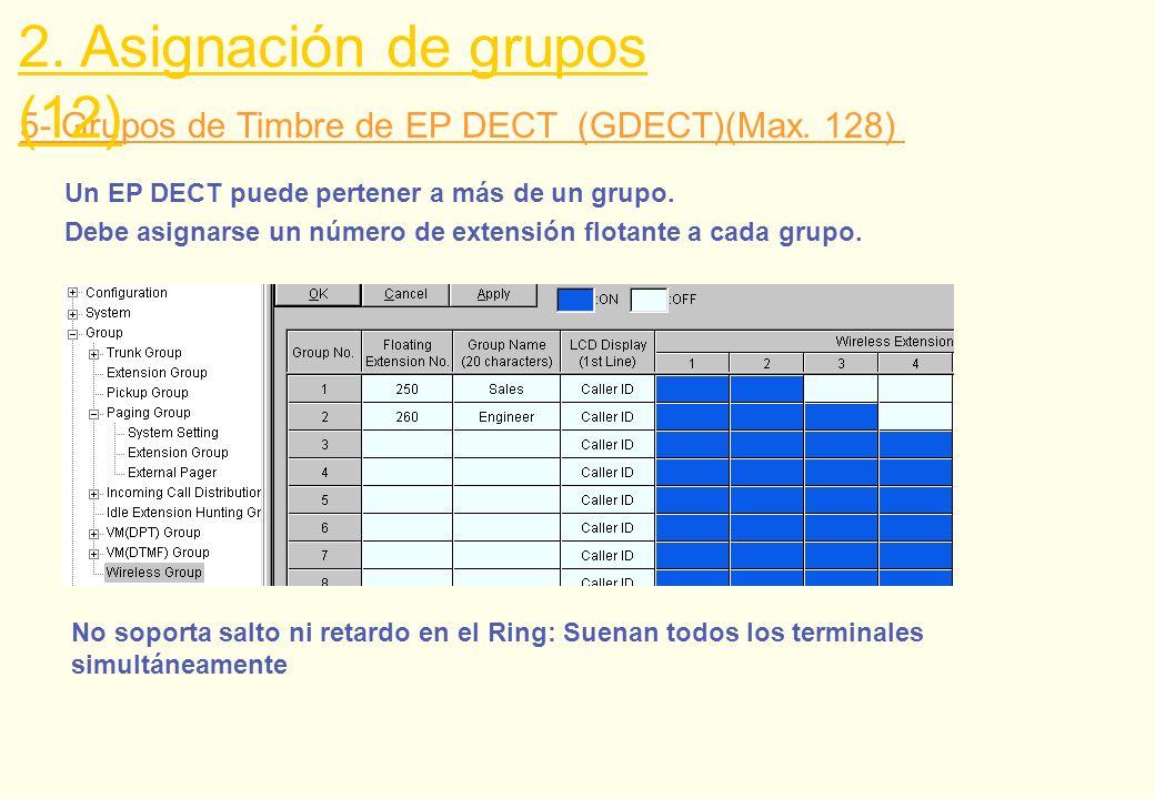 2. Asignación de grupos (12)