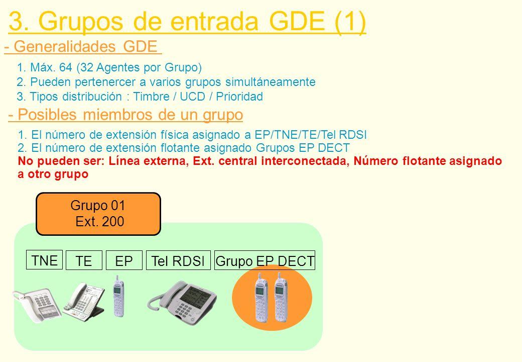 3. Grupos de entrada GDE (1)