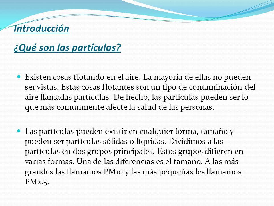 Introducción ¿Qué son las partículas