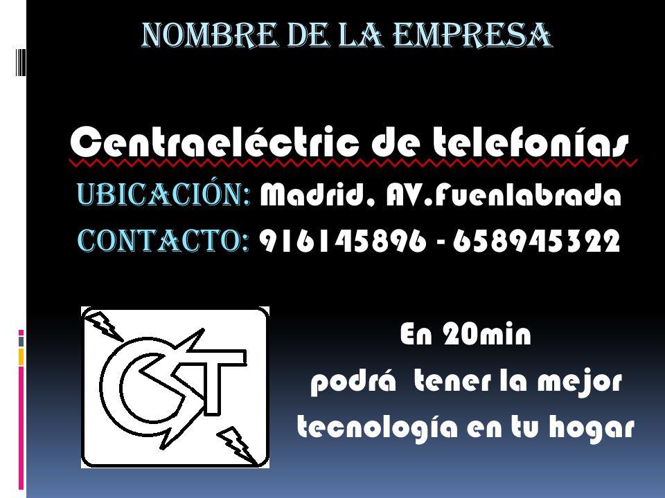Centraeléctric de telefonías