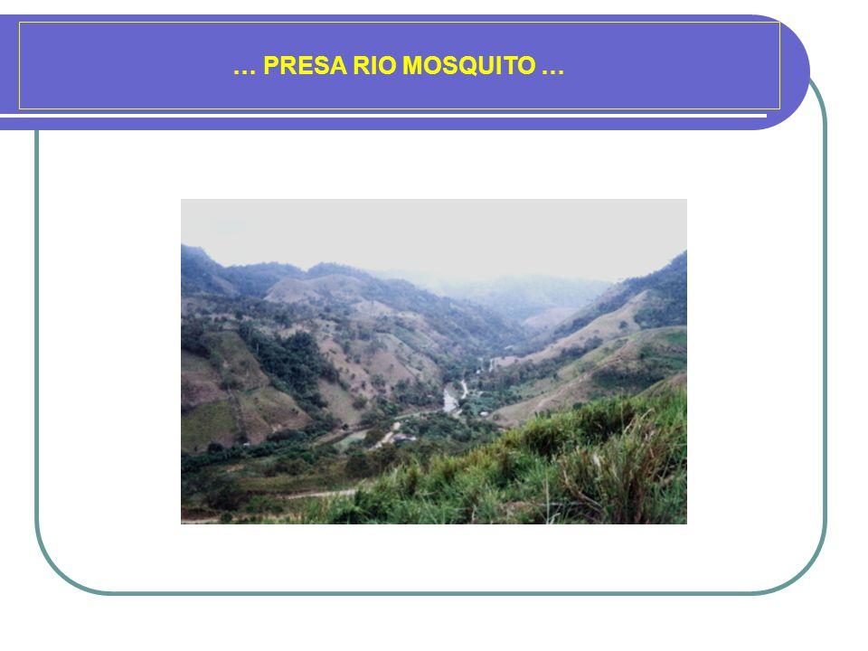 … PRESA RIO MOSQUITO …