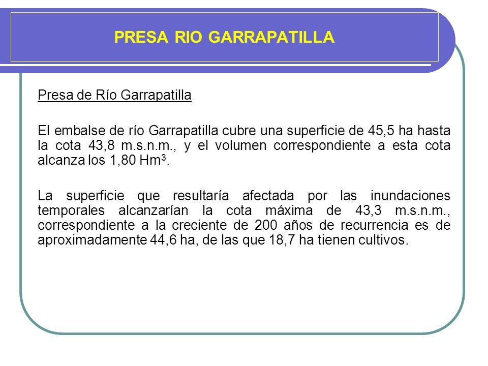 PRESA RIO GARRAPATILLA