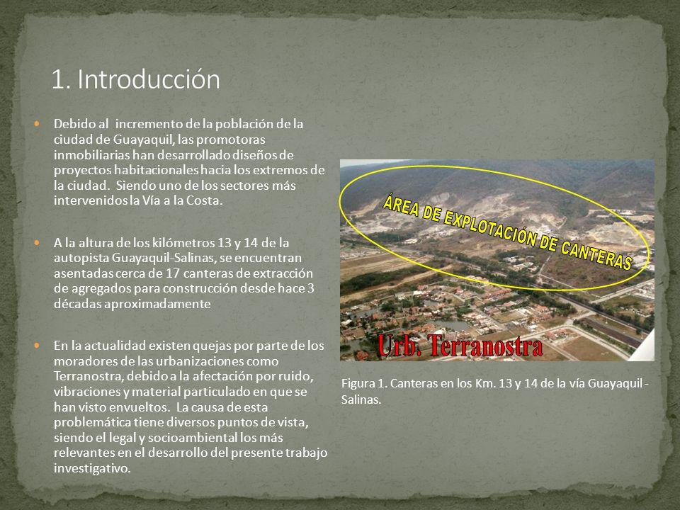 ÁREA DE EXPLOTACIÓN DE CANTERAS