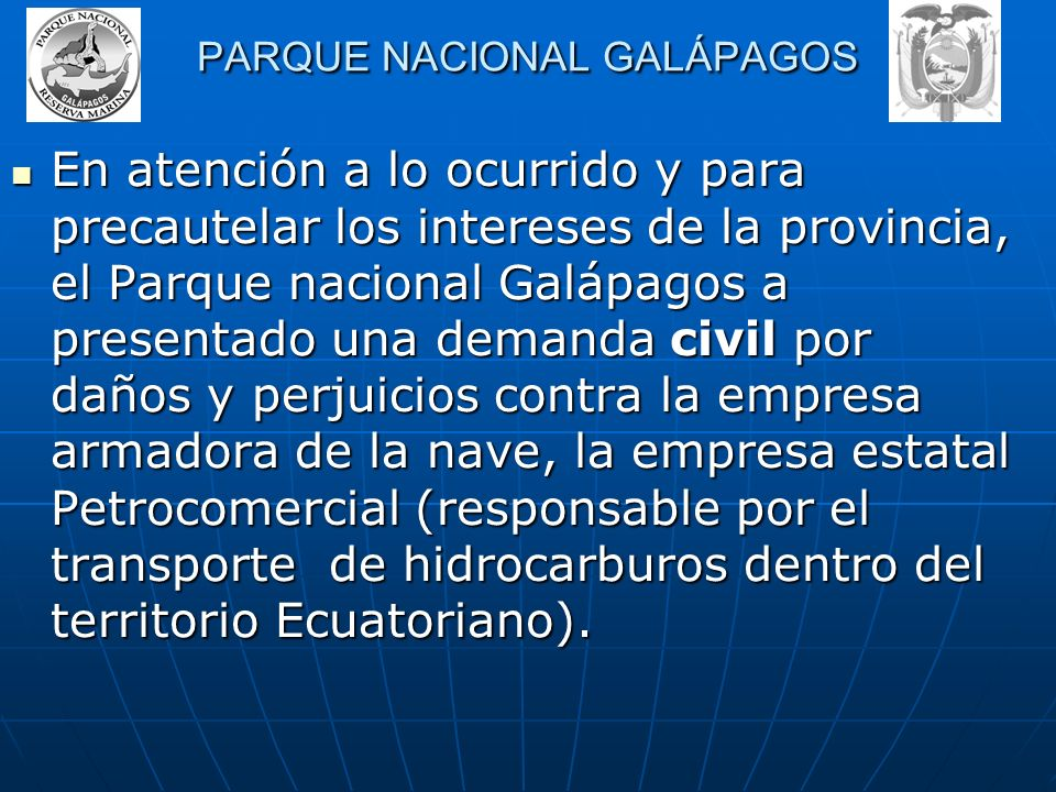 PARQUE NACIONAL GALÁPAGOS
