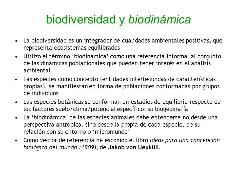 biodiversidad y biodinámica