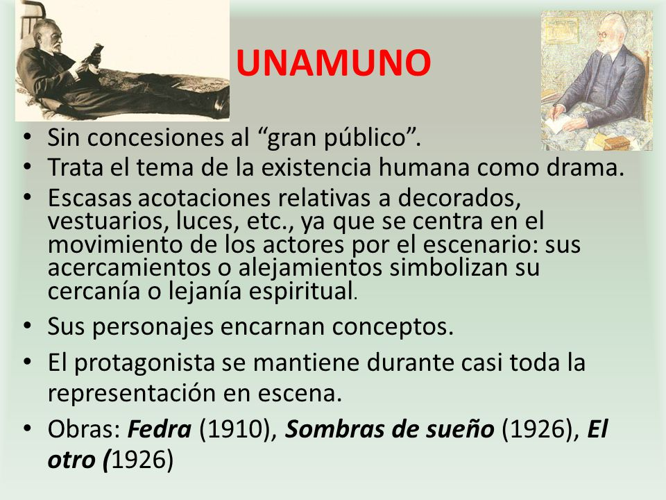 UNAMUNO Sin concesiones al gran público .