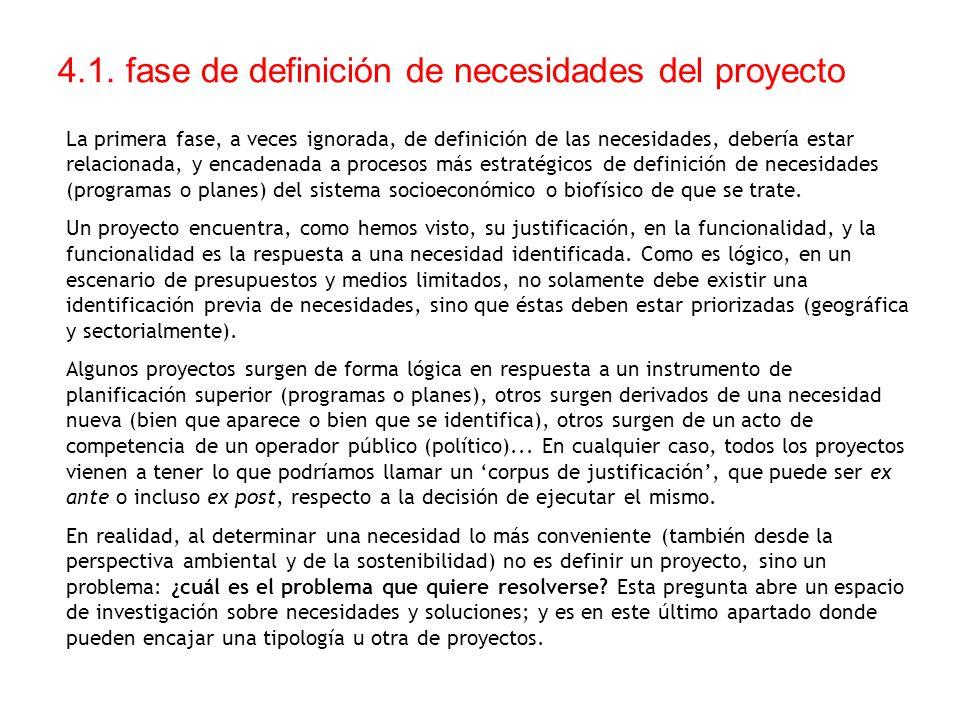 4.1. fase de definición de necesidades del proyecto