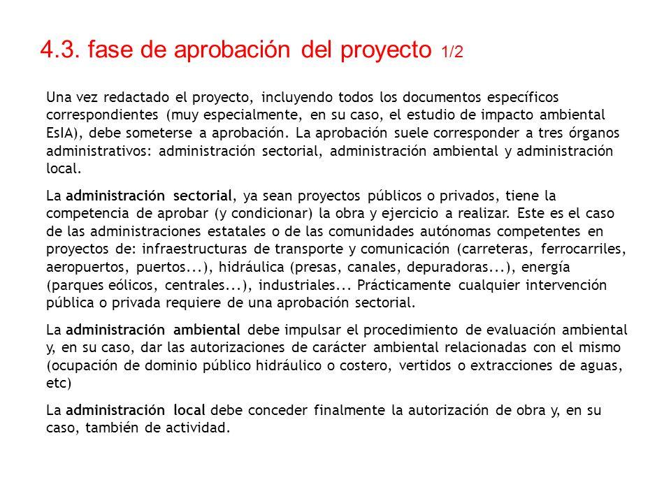 4.3. fase de aprobación del proyecto 1/2