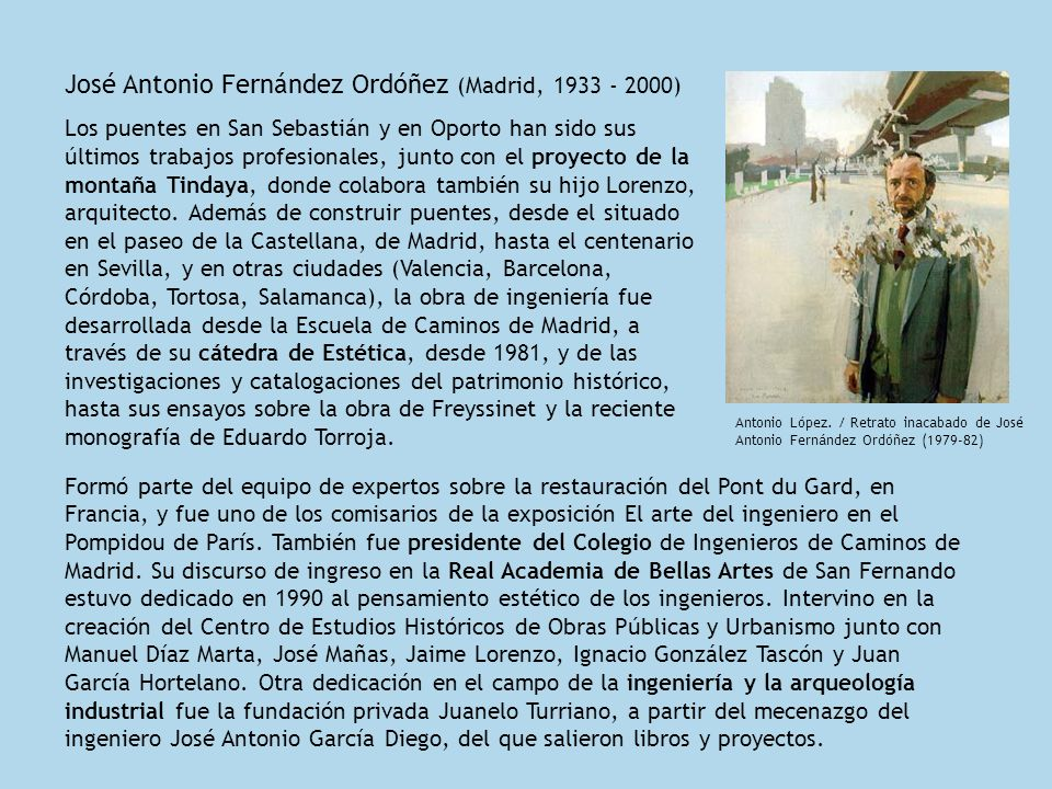 José Antonio Fernández Ordóñez (Madrid, 1933 - 2000)
