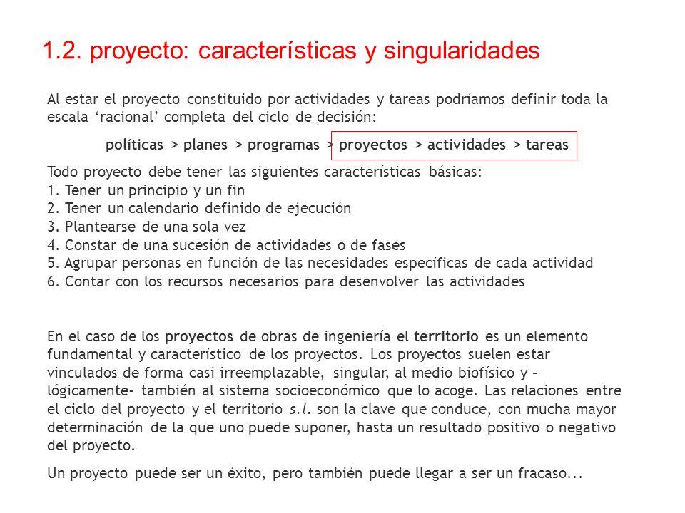 1.2. proyecto: características y singularidades