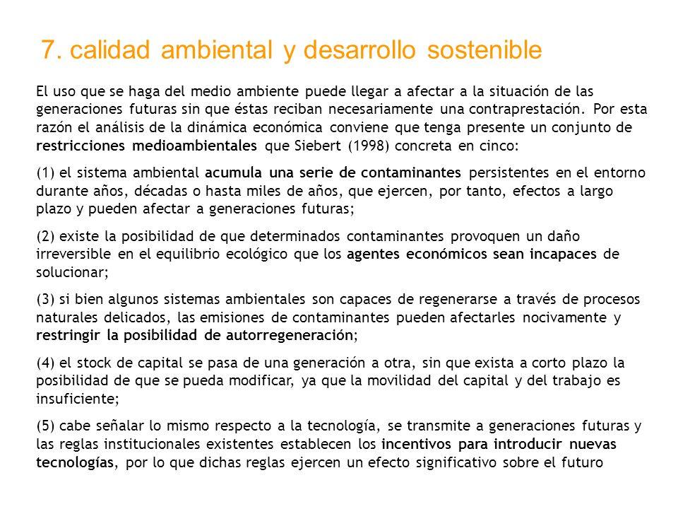 7. calidad ambiental y desarrollo sostenible