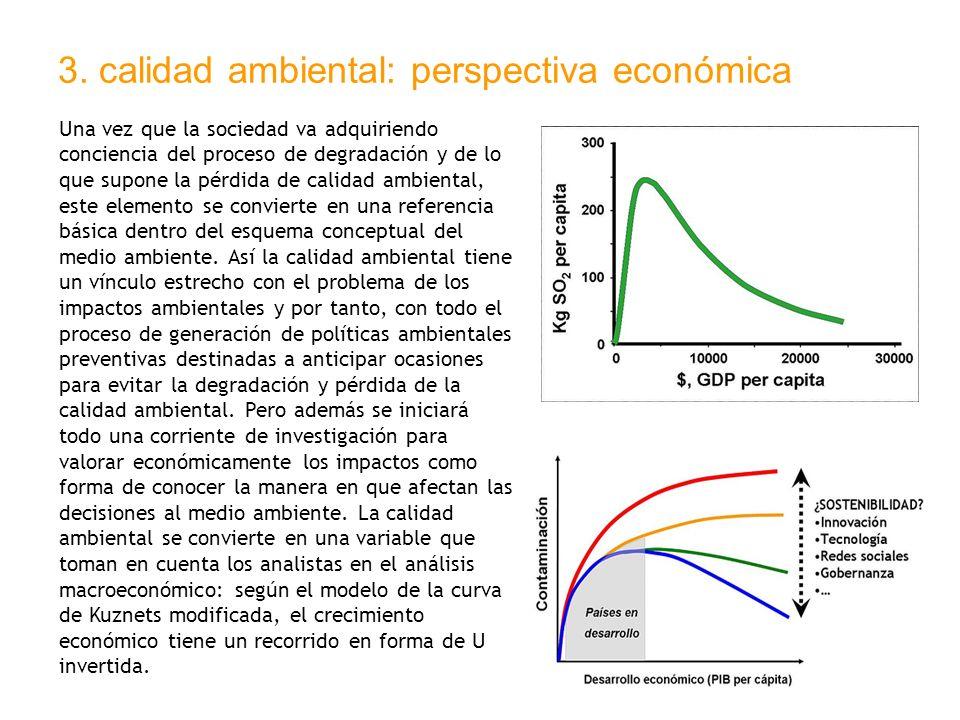 3. calidad ambiental: perspectiva económica
