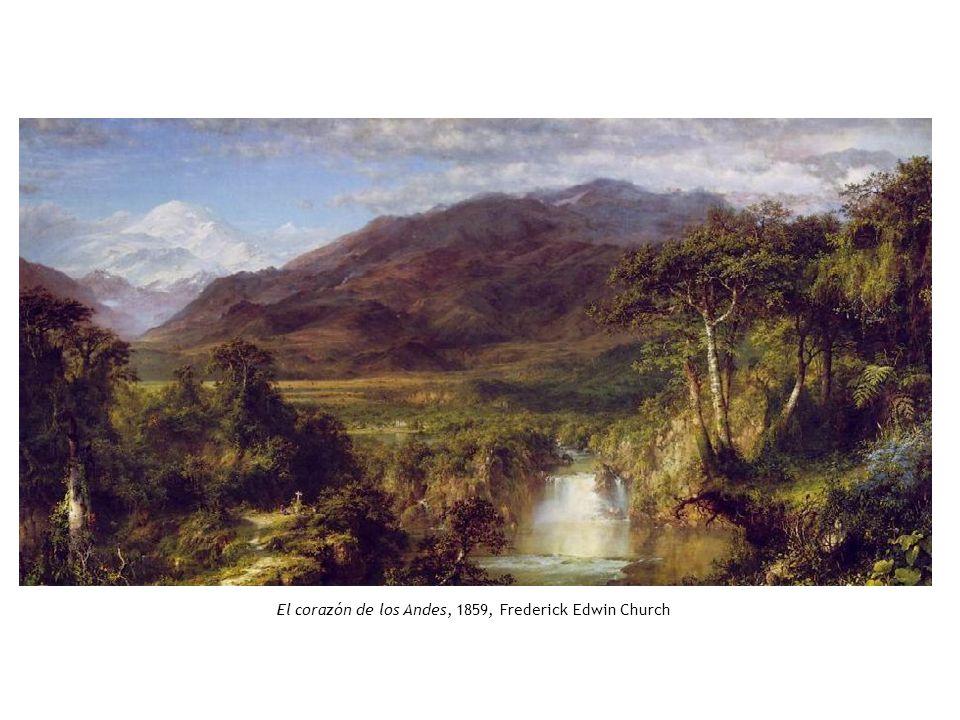 El corazón de los Andes, 1859, Frederick Edwin Church