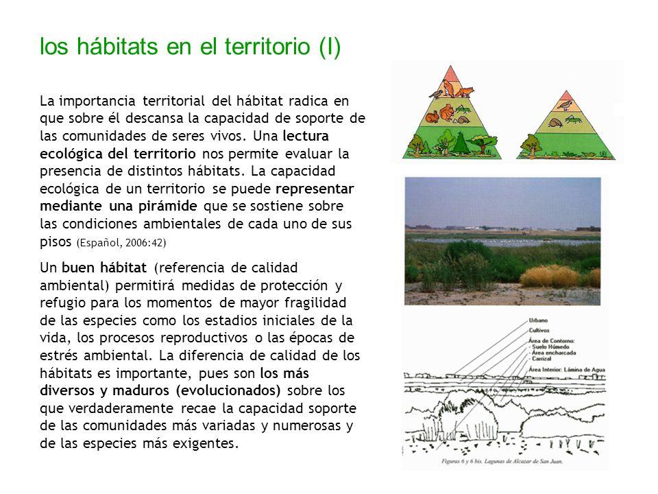 los hábitats en el territorio (I)