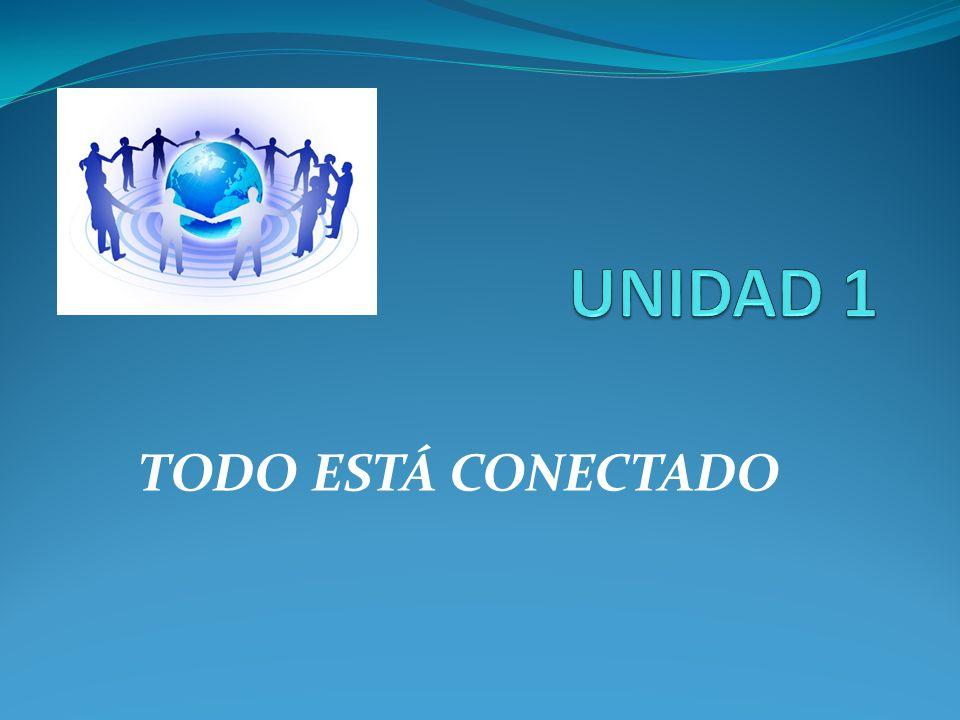 UNIDAD 1 TODO ESTÁ CONECTADO