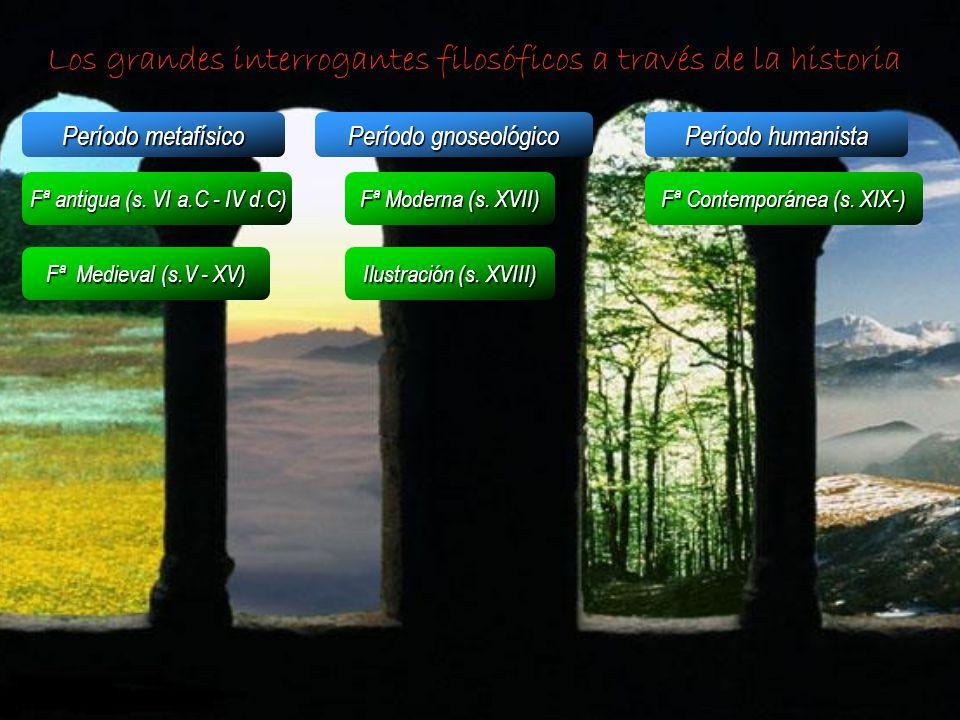 Los grandes interrogantes filosóficos a través de la historia