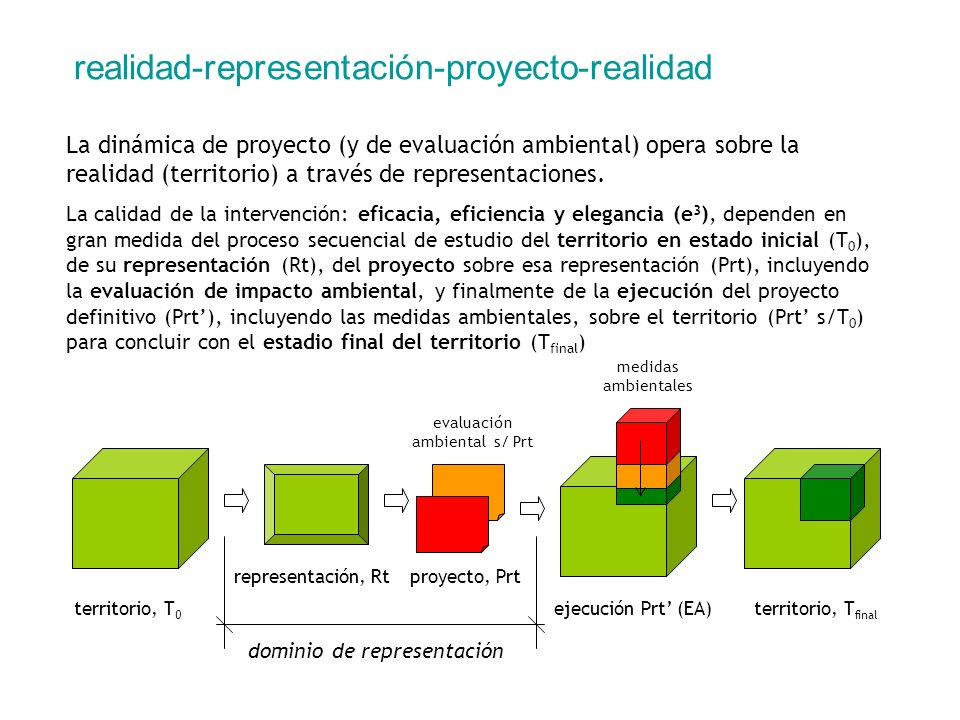 dominio de representación
