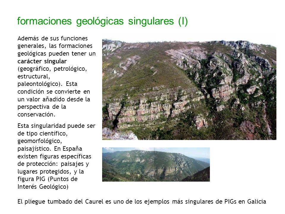 formaciones geológicas singulares (I)
