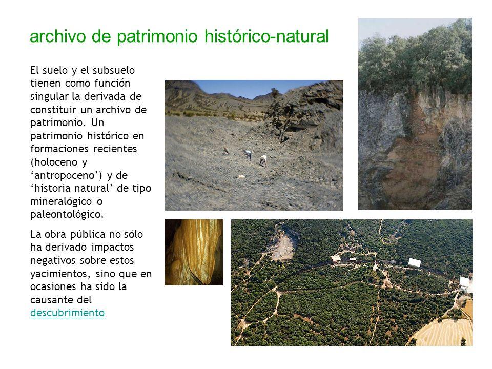 archivo de patrimonio histórico-natural