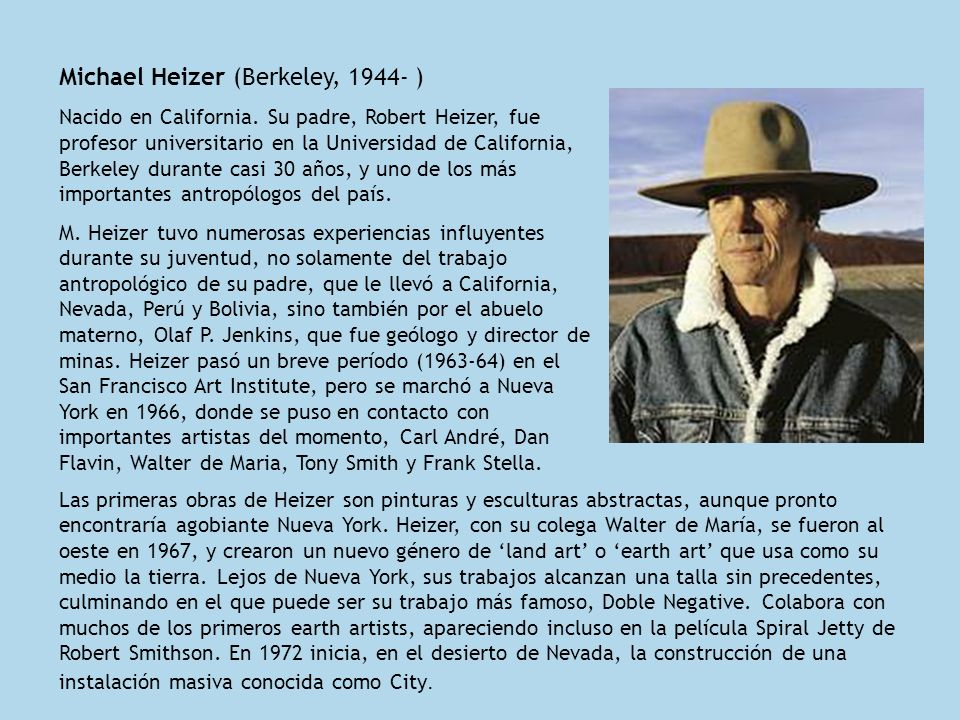 Michael Heizer (Berkeley, 1944- )