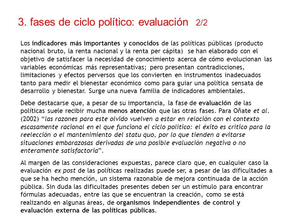 3. fases de ciclo político: evaluación 2/2